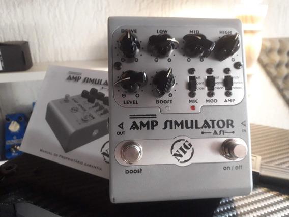 Pedal Nig Amp Simulator As1 Simulador De Amplificador