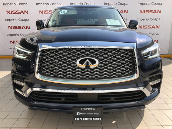 Infiniti Qx80 5.6l Perfection 7 Pasajeros At 2018