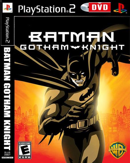 Batman Gotham Knight - Playstation 2 - Ps2 Jogo Games Cd Dvd