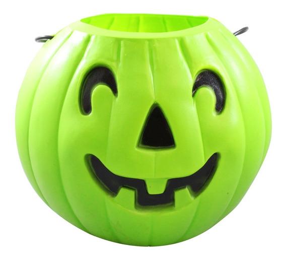 Calabaza Verde Para Halloween Grande