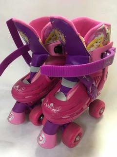 Patines Para Niña Disney Princesas Rosa