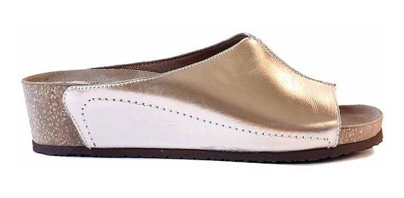 Zueco Cuero Mujer Briganti Zapato Casual Vestir - Mcch26051