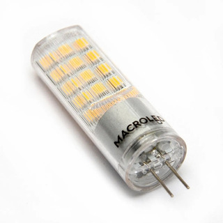 Pack X 10 Lamparas Bi Pin G4 12v 4w Led Calida Fria 420lm