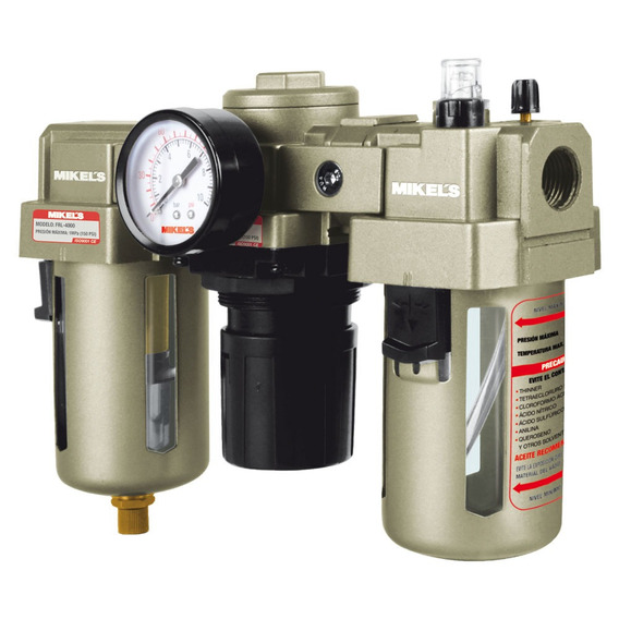 Filtro Regulador Y Lubricador 1/2 Mikels Frl4000