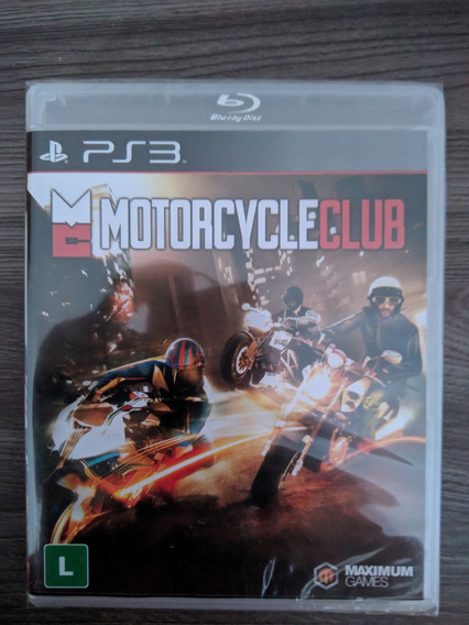 Motorcycle Club - Ps3 Novo Lacrado