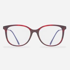 1995230fd Oculos De Grau Feminino Vermelho Ou Vinho - Óculos no Mercado Livre ...