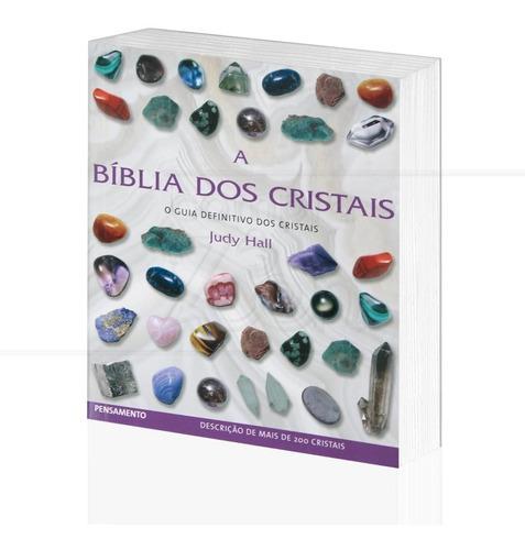 Livro A Bíblia Dos Cristais, O Guia Definitivo Dos Cristais