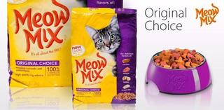 Meow Mix Original Comida Alimento Gatos X16 Lb Entrego Ya!