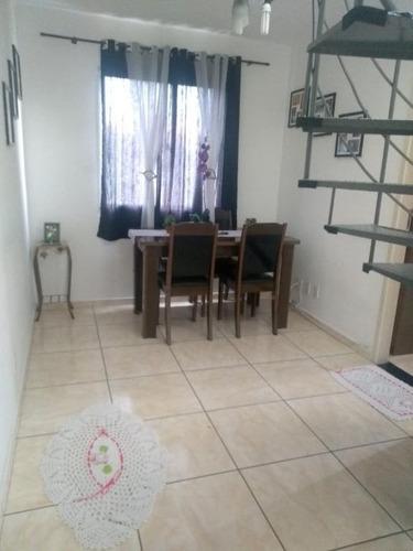 Imagem 1 de 19 de Cobertura Com 2 Dormitórios À Venda, 90 M² Por R$ 260.000,00 - Vila Curuçá - São Paulo/sp - Co0017