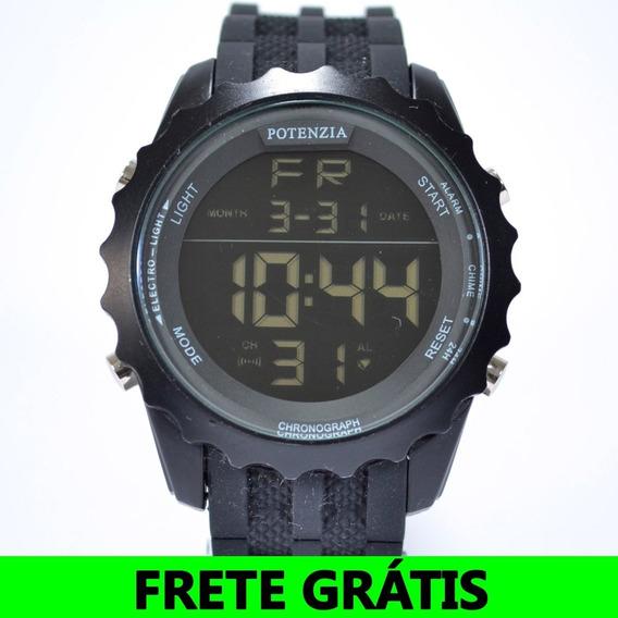 Relógio Masculino Esportivo Potenzia Antishock Militar+frete