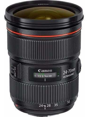 Lente Canon Ef 24-70mm F/2.8l Ii Usm - Nf + Garantia
