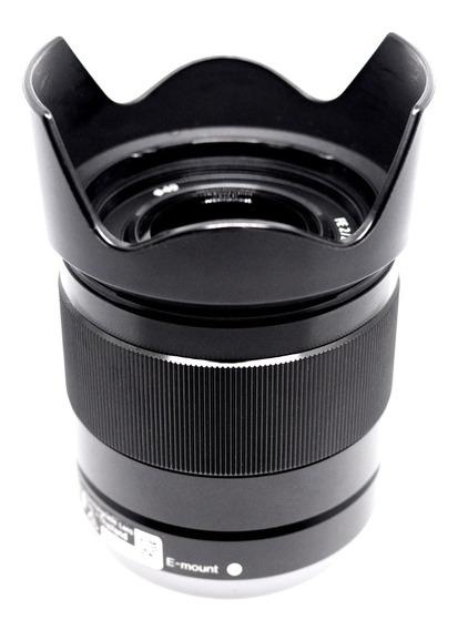 Lente Sony Fe 28mm F2.0 Full Frame P/ A7iii A7rii Impecável