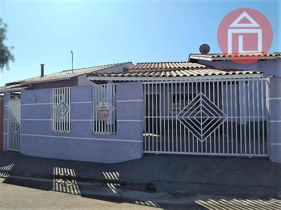Casa Com 3 Dormitórios Para Alugar, 110 M² Por R$ 1.300,00/mês - Residencial Dos Ipês Iii - Bragança Paulista/sp - Ca1117