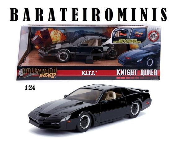 1:24 Super Máquina Kitt Knight Rider C/ Luz Jada Hollywood
