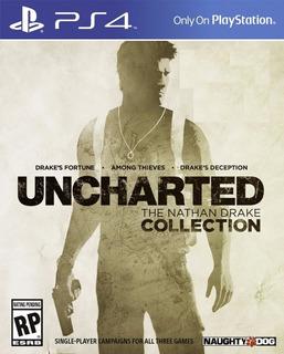 Juego Ps4 Uncharted Collection - Original Fisico