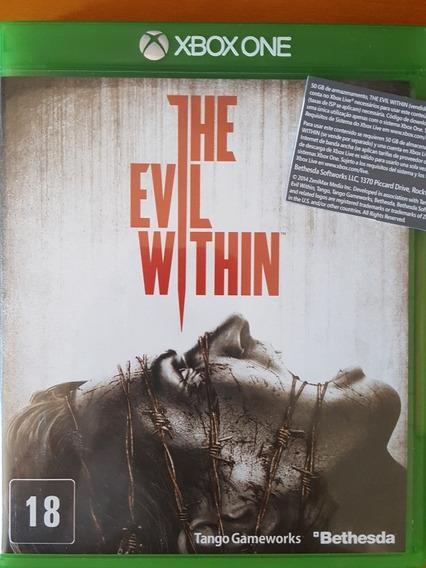 The Evil Within Xbox One Mídia Fisica Frete Grátis