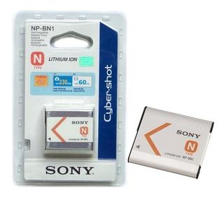 Batería Pila Recargable Original Sony Cibershot Np-bn1 Npbn1