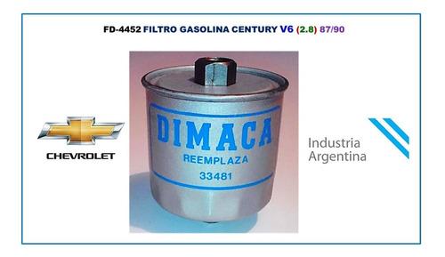 Filtro Gasolina Century V6 (2.8) 87/90