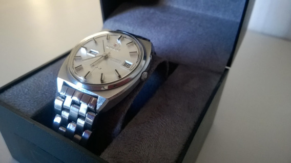 Lindo Relógio Orient Modelo Raro Automático Anos 70 25 Rubis
