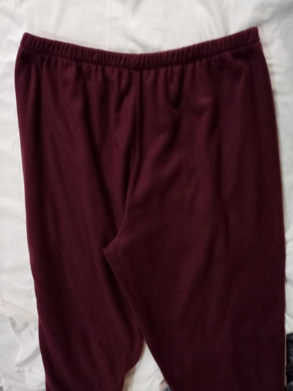 Pijama Pantalón 4xl Tallas 52 A 54 Económico Sin Bragueta.