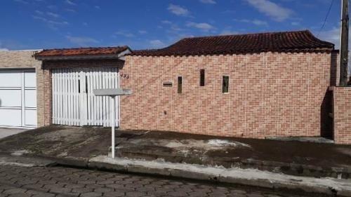 Casa Em Rua Calçada Com Espaço P/ Piscina 700 Metros Do Mar No Gaivota - 0068-cs