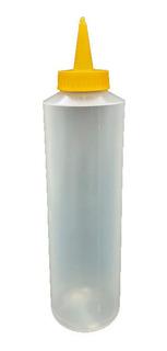 Pomo Mediano Para Salsas O Liquidos Plastico
