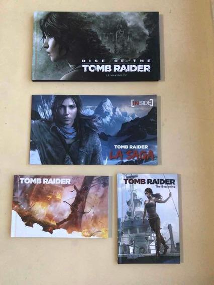 Lote De Livros Tomb Raider