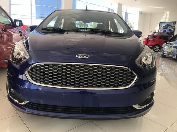 Ford Figo Titanium Azul 2020