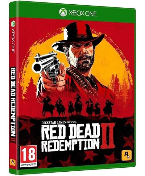 Red Dead Redemption2 Xbox One Disco Fisico Nacional Barato