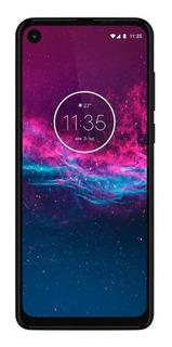 Smartphone Motorola One Action Xt2013-1 4gb 128gb - Cinza