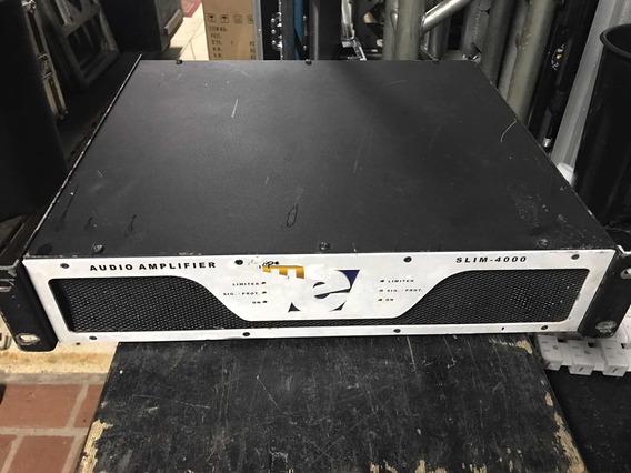 Amplificador Etelj Slim 4000