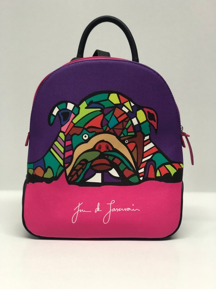 Bag Pack Multiusos Modelo Bulldog Diseño Juan Lascurain