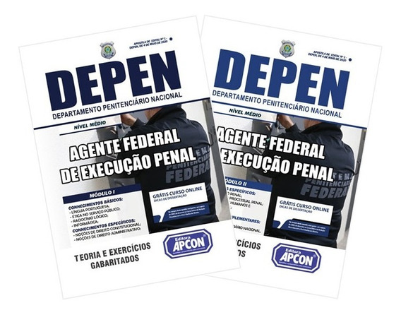 Apostila Depen - Agente Federal De Execução Penal - 2020