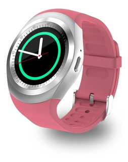 Relogio Inteligente Smartwatch Y1 Chip Bluetooth Android Ros