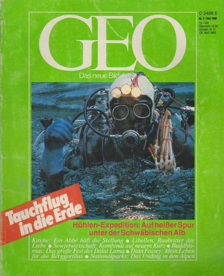 Revista Geo Nr. 5 Mai 1986 Germany