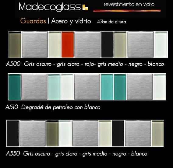 Guardas De Acero Y Vidrio Madecoglass Valor X Pieza