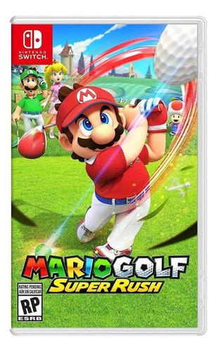 Imagen 1 de 4 de Mario Golf: Super Rush Standard Edition - Nintendo Switch