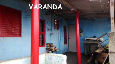 Casa 3 Cômodos + Terreno 10x25 Em Rua Sem Saída