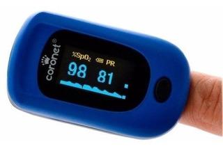 Oximetro De Pulso Saturometro C/ Curva Niño Y Adulto