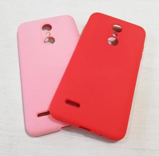Funda Silicone Cover Case Lisa Afelpada LG K11