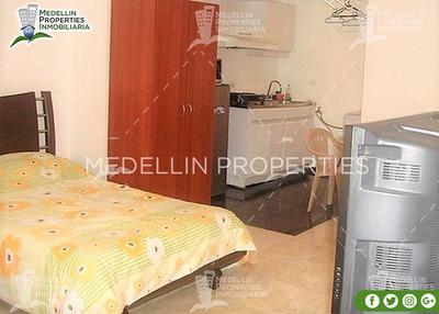 Apartamentos Amoblados Baratos En Medellín Cód: 4245