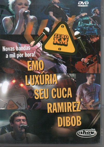 Dvd Zero Km - Emo - Luxuria - Seu Cueca