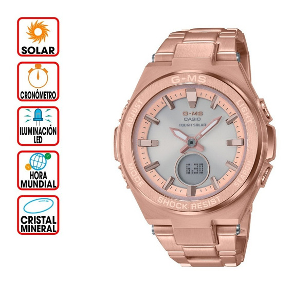 Reloj Casio Baby-g G-ms Msg-s200dg-4a