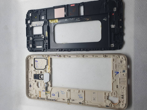 Chasis Carcaza Botones Samsung J8 Repuesto Original Dorado