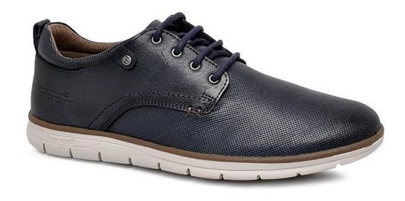 Sapato Masculino Ferricelli Ke51225 Azul Marinho