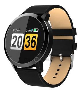 Relógio De Pulso Smartwatch Q8 - Pressão Sanguínea Arterial