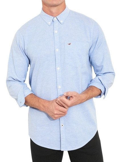 Camisa Social Hollister Masculina 100% Original - Tam: Gg P2