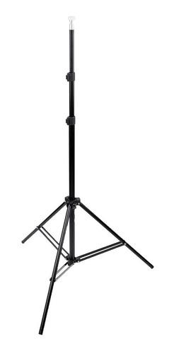 Imagem 1 de 1 de Tripe De Iluminacao 2 Metros Soft Box, Led , Microfone