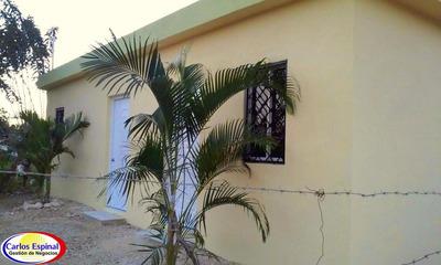 Casa Nueva Y Barata De Venta En Higuey, República Dominicana