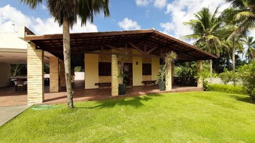 Chácara Com 3 Dormitórios À Venda, 8000 M² Por R$ 1.200.000,00 - Cidade Balneária Novo Mundo I - Conde/pb - Ch0013